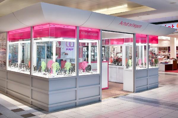 Votre bijouterie Or & Argent en plein dans le Westland Shopping Center de Bruxelles (sur Anderlecht)